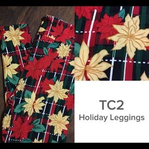 Lularoe TC2 Holiday Leggings